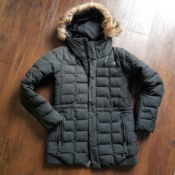 6cb75f35c3 Womens the north face beatty s deluxe jacket coat.  M 5bef0b7c9539f7e910a6cb20